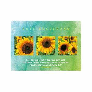 Postkarte Gute Besserung - Gottes Zuspruch nach Jesaja 41,13