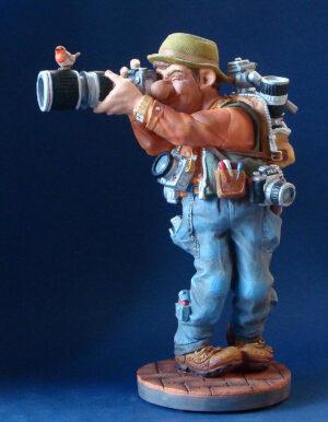 Parastone Skulptur Fotograf - Hobbyfotograf Profisti Figur