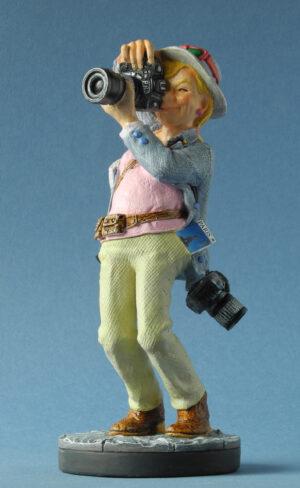 Parastone Skulptur Fotografin - Hobbyfotografin Profisti Figur auf Sockel