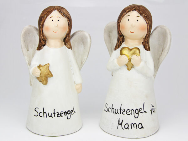 Personalisierbarer Schutzengel mit Namen - individualisierbarer Namensschutzengel oder für besonderen Anlass Engel Figur mit Namen