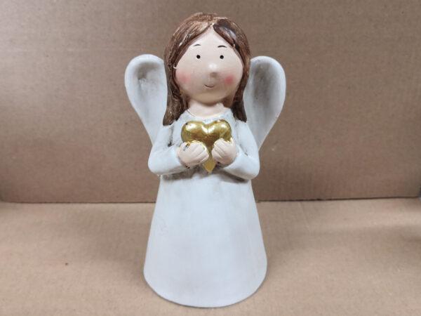 Personalisierbarer Schutzengel mit Namen - individualisierbarer Namensschutzengel oder für besonderen Anlass Engel mit Herz