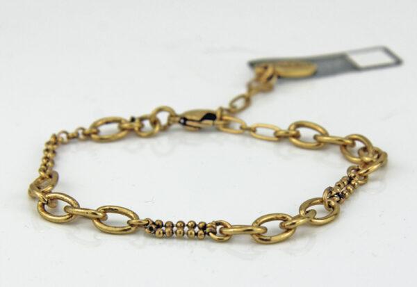 Pilgrim Charms Bettelarmband in gold 444992.