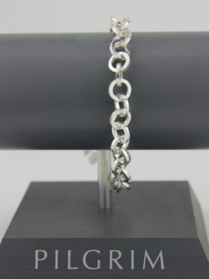 Pilgrim Charms Bettelarmband in silber - platinoptik Pilgrim 444792