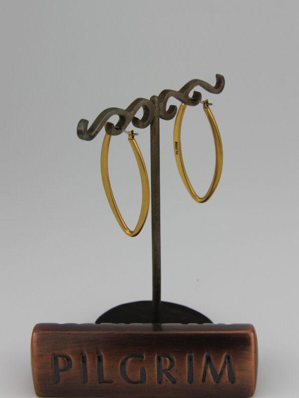 Pilgrim ovale Creolen in gold Pilgrim483503