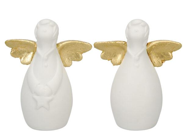 Porzellan Schutzengel - individualisierbarer Namensschutzengel oder für besonderen Anlass Engel 491835-010-108