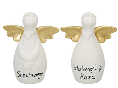 Porzellan Schutzengel Engel mit Namen Beschriften - individualisierbarer Namensschutzengel oder für besonderen Anlass Engel 491835-010-108