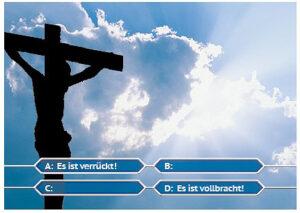 Postkarte-Osterbotschaft-4me-Es-ist-vollbracht-Quiz-Show-PK194
