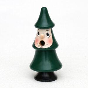 Räucherfigur Tanne - kleine Räucherfigur aus Holz