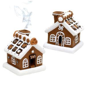 Räucherhäuschen - Lebkuchen Häuschen Räucherfigur