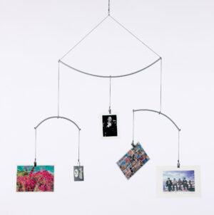 Memo Mobile - DIY Mobile Halterung - Fotomobile für Postkarten oder Bilder