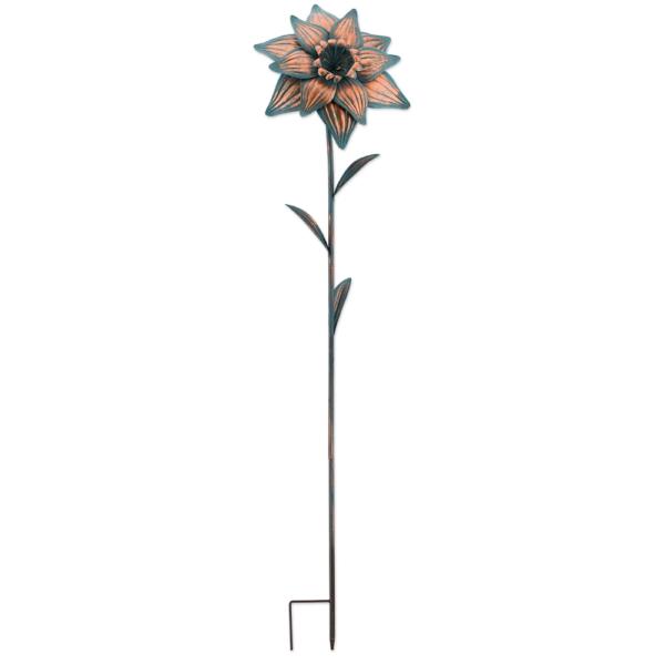 Metall Blume Gartenstecker Flower