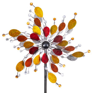 Metallwindrad Kinetic Spinner Jewel 61cm - Regal Arts & Gifts Premium Windrad XL