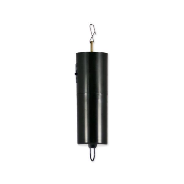Drehmotor - Batterie Motor für Edelstahl Windspiele - Batteriemotor schwarz