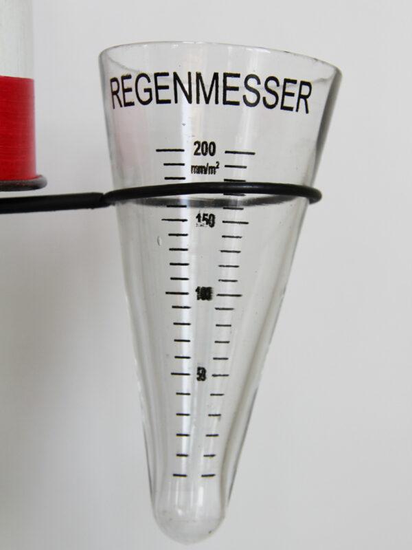 Regenmesser Leuchtturm Kanu - Niederschlagsmesser Maritim Regenmesserglas