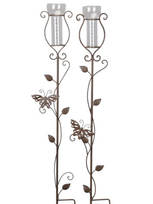 Regenmesser Schmetterling - schlichter Gartenstecker mit Niederschlagsmesser 540456-000-708