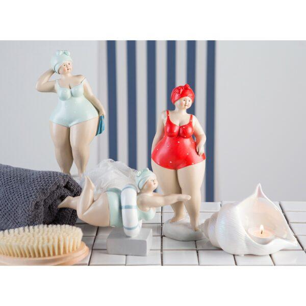 Retro Badefigur auf Sockel - Tante Elli - übersicht