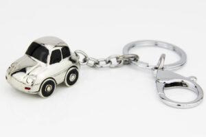 Schlüsselanhänger Auto bewegliche Räder 40711