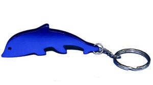 Schlüsselanhänger Delphin Flaschenöffner