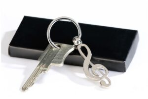 Schlüsselanhänger Notenschlüssel Musik Schlüsselanhänger Violinschlüssel Noten Musiker