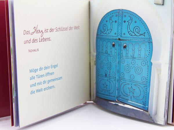 Schutzengel Buch - kleines Büchlein zum Verschenken beispielseiten