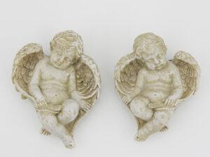Schutzengel Magnet Engel - Magnet mit Resin Engelsfigur