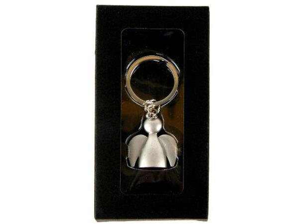 Schutzengel Schlüsselanhänger Engel - Schlüsselring Metall Engel in Geschenkbox