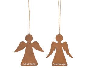 Schutzengel zum Aufhängen - Engel Hänger Eisen rost 471987-000-712