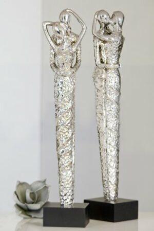 Skulpturen Amore - Liebespaar 51 cm auf Sockel