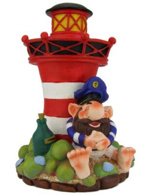 Spardose Leuchtturm - Ostfriesische Spardose Seemann