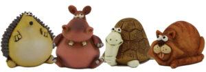 Spardose witzige Tiere - Igel Spardose Hippo Schilkkröte Spardose Katze