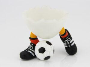 Speedy & Friends Eierbecher Oranje der Torjäger- Fußball Eierbecher - Rarität
