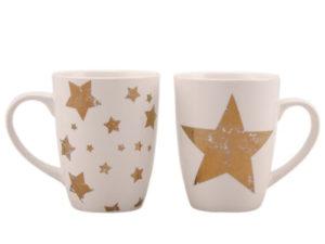 Stern Becher gold - Porzellan 222863_s