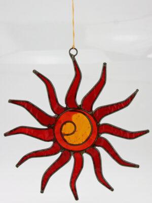 Suncatcher Sonne Fensterhänger 13 cm