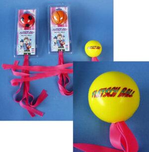 Trend Fletsch Ball – Ballspiel mit Spannbändern – Trick Soft Ball – Gummischleuder