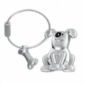 Troika Pete - Hund Schlüsselanhänger mit Knochen