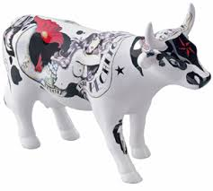 Von dee Cowparade Medium cow - Sammlerkuh aus Keramik 47384
