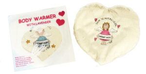 Wärmekissen Schutzengel – Thermokissen Körnerkissen Weizenkissen Herz – Mädchen oder Junge