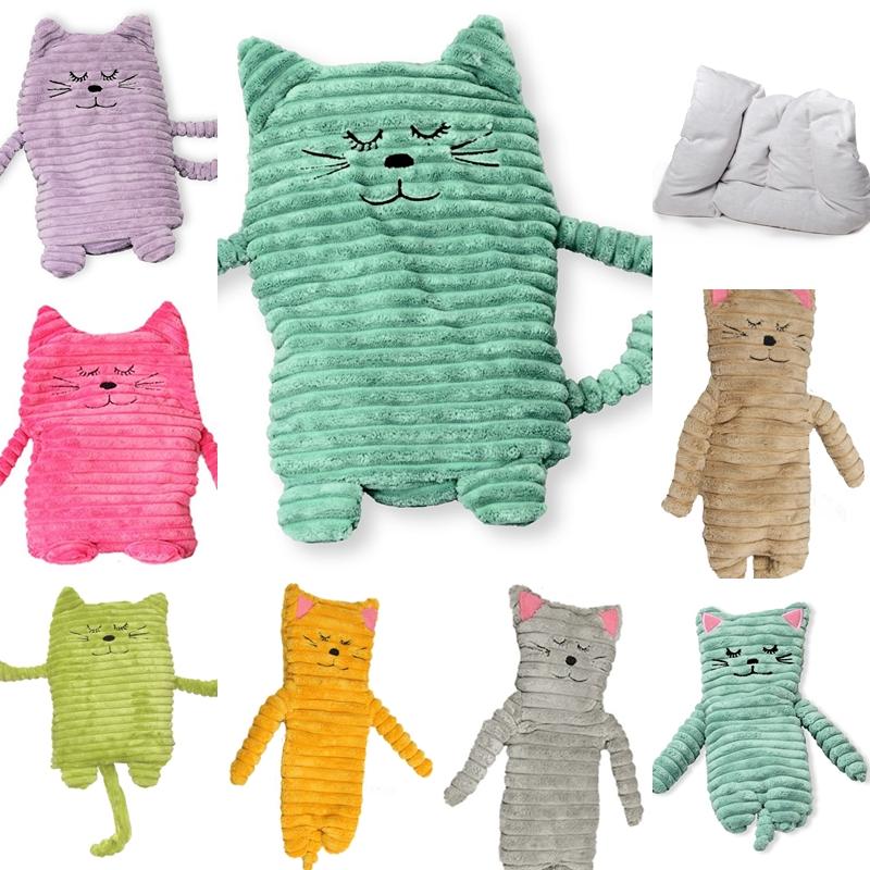 Beliebt Wärmetier Katze mit Wärmekissen - Füllung mit Keramikperlen - groß JG98