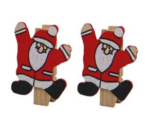 Weihnachtsmann Klammern - Die Botschafterklammer von Räder Design - verschiedene Sets