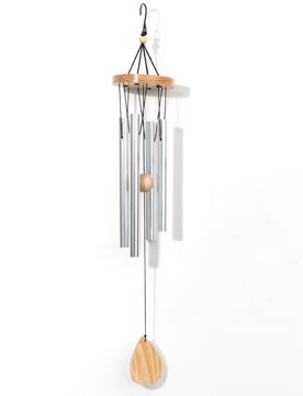 Metall Klangspiel mit Holz Elementen