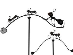 Windspiel Ameise Balancer - Insekten Gartenstecker