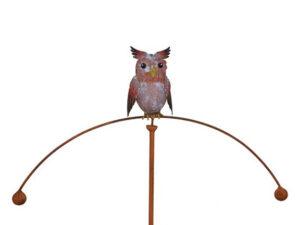 Windspiel Eule Balancer - Eulenwippe - Gartenpendel Eule 235081