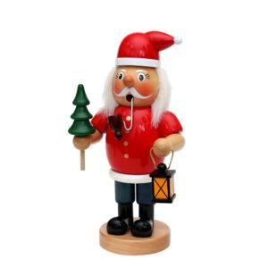 XL Räuchermännchen Weihnachtsmann mit Pfeife