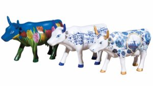Cowparade Collectables Artpack Cool Blue