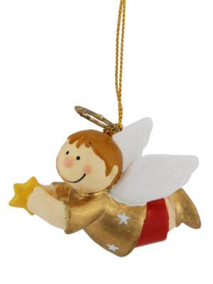 Mila Bengel - fliegender Schutzengel Junge zum Aufhängen