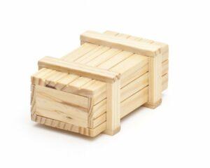 Magische Geschenkbox aus Holz - Trickkiste für Geldgeschenke, Schmuck, Gutscheine - Knobelspiel - Verpackung für Geschenke