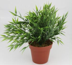künstlicher Zimmerbambus, getopft - Bambus Topfpflanze Kunstpflanze -Kunstblume