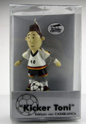 Fußball Wackelfigur Kicker Toni - Glücksbringer Fußballspieler