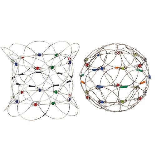 mandala spiel ball 11 cm magischer kreis drahtgeflecht. Black Bedroom Furniture Sets. Home Design Ideas