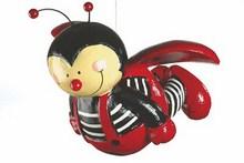 Mila Käfer Pappmaché - Marienkäfer fliegend, groß